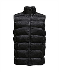 Unisex Stealth Camo Puffer vest