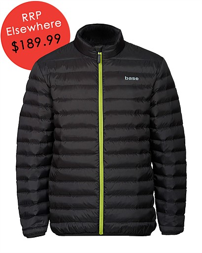 Mens Lightweight Down Puffer Jacket
